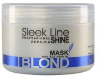 STAPIZ Maska do włosów blond 250ml Sleek Line Blond