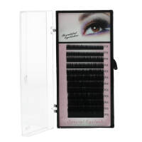 Kasetka - Rzęsy jedwabne Beautiful Eyelashes MIX B 0,10mm 7,9,11,13,15mm